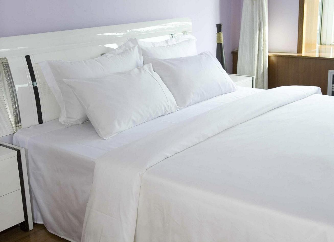 Plain Double Bed Sheet Jpg