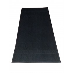 "BLACK SALON TERRY TOWEL SIZE 50 CM X 90 CM ( 20"" X 36"")  WEIGHT 170 GM PER PIECE. MINIMUM BUY 12 PIECES"