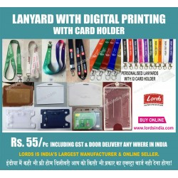 BRANDED  DIGITAL LANYARD WITH CARD HOLDER TO CREATE BRAND IMAGE OF COMPANY IN  EMPLOYEES  PERSONALITY