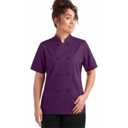Female Chef Coat Executive Chef Wear White Double Breasted