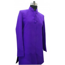 INDO WESTERN LONG COAT PURPLE FOR FEMALE