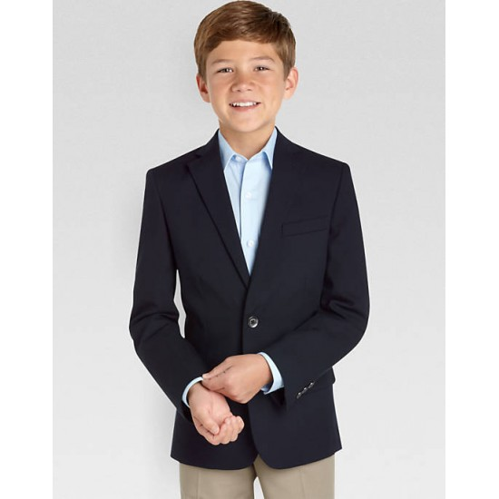 Boys Blazer Navy Smart Jacket Two Button