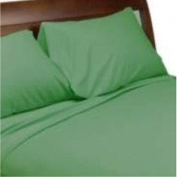 GREEN BED SHEET FOR LODGES GUEST HOUSE HOTELS HOSPITALS BICHAYAT AND MANGAL KARYALAYA