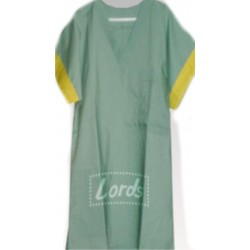UNISEX PATIENT GOWN - ICU GOWN - O.T. GOWN