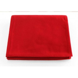 "HOSPITAL RED BLANKET SINGLE BED SIZE 60"" X 90"""
