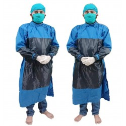 LORDS SURGEON GOWN WITH PVC COVERING WITH MASK AND CAP