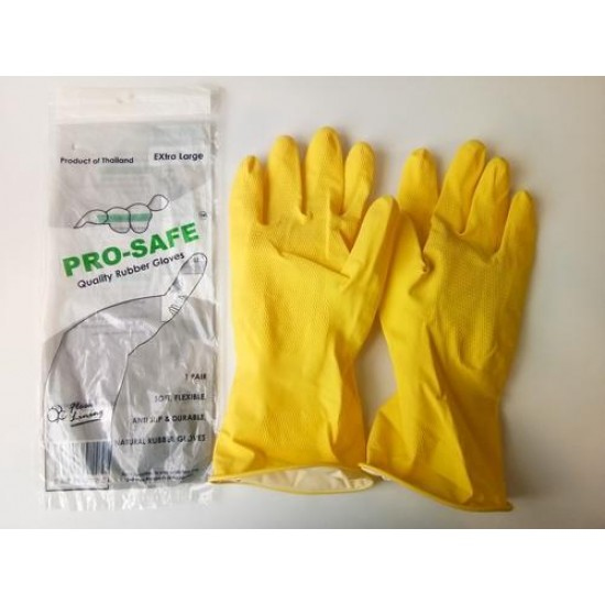 HAND GLOVES NATURAL RUBBER HAND GLOVES FREE SIZE