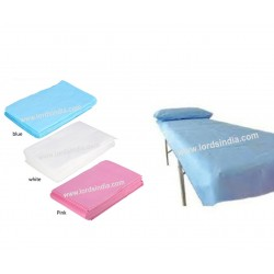 NON WOVEN DISPOSABLE BED SHEET 70 GSM FREE SIZE