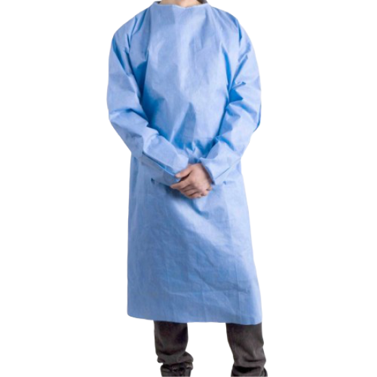 DISPOSABLE GOWN 70 GSM SITRA APPROVED FABRIC
