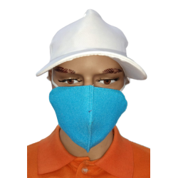 THREE LAYER MASK COTTON MATTY FABRIC