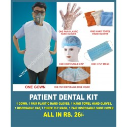 DENTAL PATIENT PROTECTION KIT