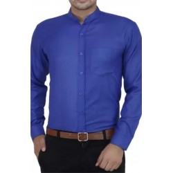SHIRT FORMAL STAND COLLAR EXECUTIVE STYLE OFFICE WEAR PARTY WEAR