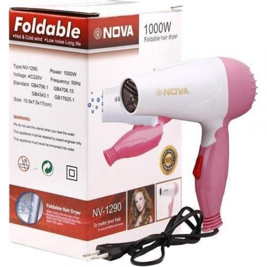 Hair Dryer Foldable NV-1290 & 1000W