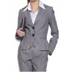 Womens Blazer Cement Grey Office Wear Party Wear Blazer