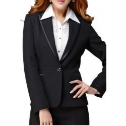 Womens Tuxedo Blazer Office Wear Party Wear Blazer