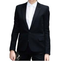 Womens Black Advocate Blazer Office Wear Party Wear Blazer