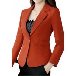 Womens Red Blazer Office Wear Party Wear Blazer