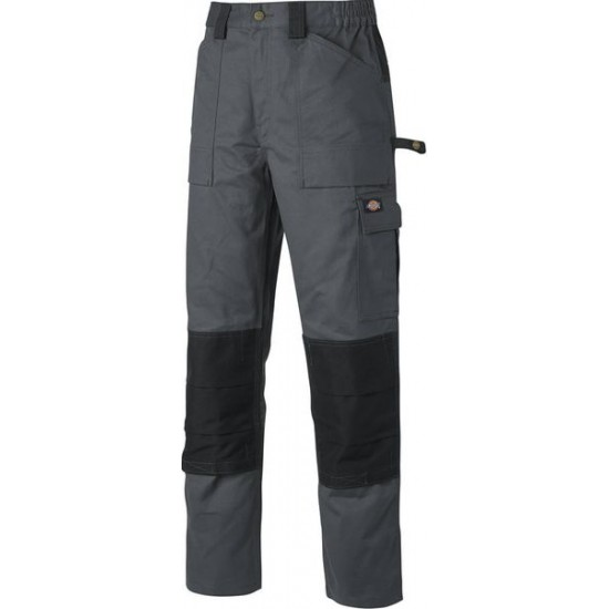 DICKIES MENS GREY WORK WEAR TROUSER