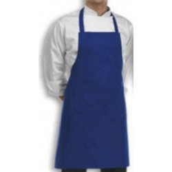 APRON BIB PLAIN R BLUE COOK WEAR HOUSE WEAR.