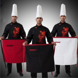 3 PIECE SERVICE APRON COOK WEAR HOUSE WEAR  (APRON ONLY)
