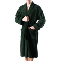BATH ROBE MADE FROM TOWELING FABRIC HEAVY FULL SIZE