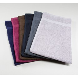 "COLOR HAND TOWEL PREMIUM COTTON WHITE SIZE 16"" X 27"" WEIGHT 150 GMS PER PC."