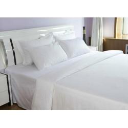 "BED SHEET QUEEN SIZE | 90"" x 100"" PLAIN COTTON 20'S COUNT"