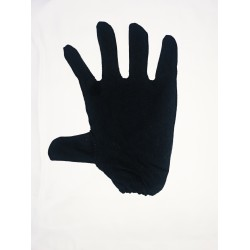 Hand Gloves Black Made From Cotton Hosiery Material Free Size