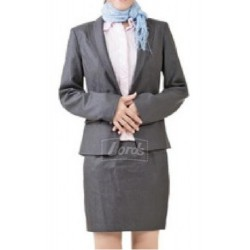 Suit Women's Suit Blazer, Shirt, Skirt & Neck Stole.