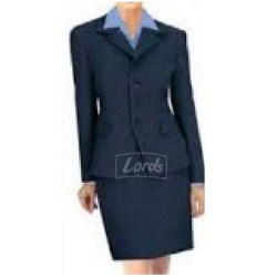 Suit Women's Suit Blazer, Shirt, Skirt & Neck Stole ( Colour Available )