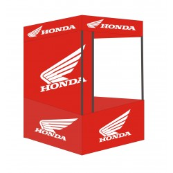 HONDA CANOPY TENT - HONDA DEMO TENT WITH PRINT SIZE 6'X6'X7' | LORDS