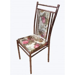 BANQUET CHAIR COPPER POLISH LATEST DESIGN IDEAL FOR PARTIES.