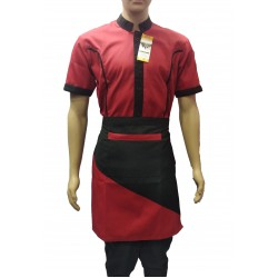 SERVICE SHIRT WITH APRON & P CAP