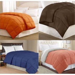 "DUVET COMFORTER SINGLE BED SOFT PLAIN COLOR 200 GSM RELIANCE POLY FILL FIVE STAR LUXURY. SIZE 60 "" X 100"""