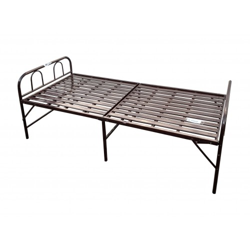 BED FOLDING METAL POWERED COATED SINGLE SIZE 30