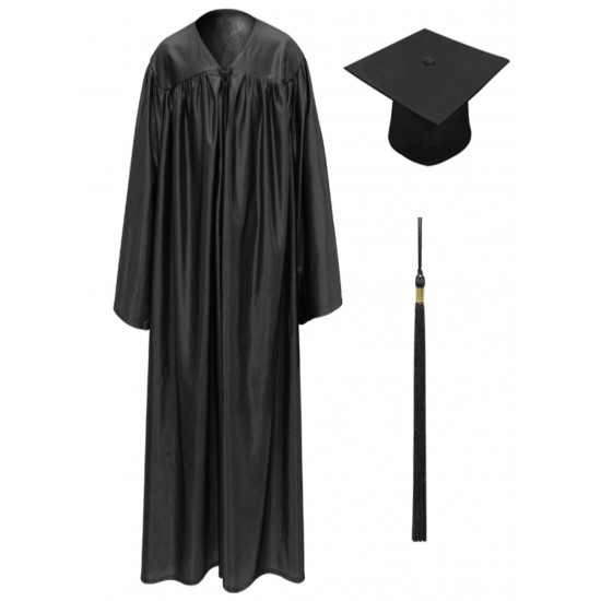 GRADUATION GOWN BACHELOR GOWN WITH CAP & TUSSLE PRICE RS. 650 INCLUSIVE DOOR DELIVERY ANY WHERE IN INDIA.