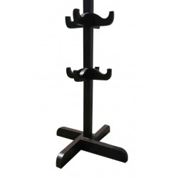 VALET STAND PURE TEAK WOOD. MULTI WING WITH BEST QUALITY POLISH