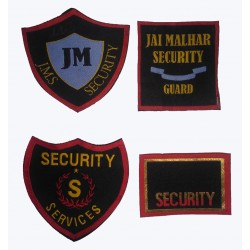 DIE CUT SECURITY LABEL SET OF TWO