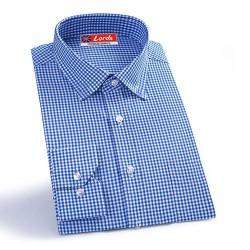 Shirt Siyaram Checks Shirt Blue And White Check