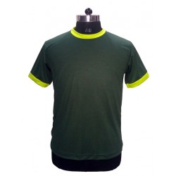 TSHIRT ROUND NECK DRY FIT WITH CONTRAS TRIMMING NIRMAL KNIT ORIGINAL RELIANCE YARN
