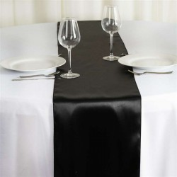 """10 PIECES TABLE RUNNER SIZE 13"""" x 100"""" BUTTER SATIN ORIGINAL QUALITY FOR  PARTY DECORATION. PRICE RS 60 PER PCS. TOTAL RS 600 FOR 10 PCS INCLUDES GST AND DOOR DELIVERY ANY WHERE IN INDIA."""