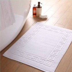"Bath Matt Towel Hotel White Premium  300 Gm  Size 20"" X30 "" Rs. 95"