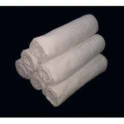 "TOWEL WHITE LADIES CHILDREN SPA SIZE 20"" x 40"" 160 GSM WEIGHT"
