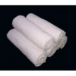 "TOWEL WHITE LADIES CHILDREN SPA SIZE 20"" x 40""  WEIGHT 200 GRAMS"
