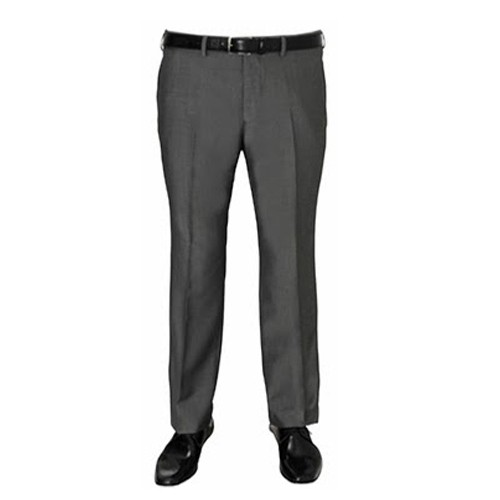 f6540738d8768 Formal Worsted Grey Pleated Trouser for men s - Plus Size Pants Big ...
