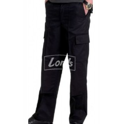 MEN'S WORK WEAR CARGO COTTON BLENDED TROUSER