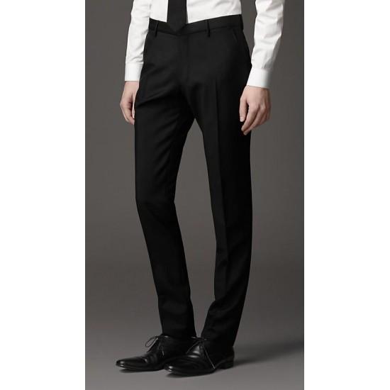 Trouser Pant Men's Formal Non Pleated