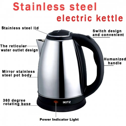 Electric Kettle (Silver