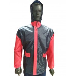 WINDCHEATER JACKET WITH HOOD. WATER PROOF , WIND PROOF. LARGE COMFORTABLE WEAR. ONLY TOP
