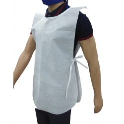 APRON WORK WEAR FRONT BACK COVERING 50 GSM